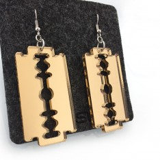 Lamette earrings