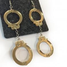 Handcuffs Earrings
