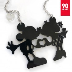 Minnie & Mickey Mouse pendant